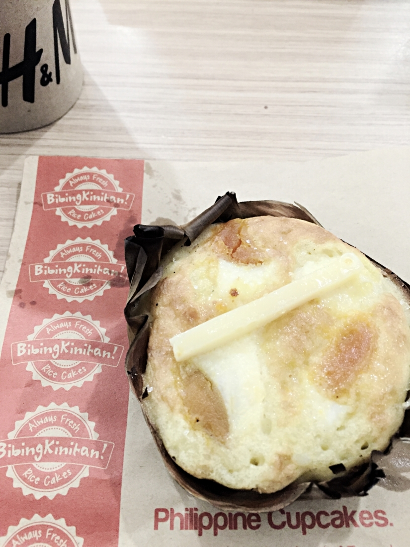 "bibingka – the Philippine cupcake ""Bibingka is a type of rice cake from the Philippines traditionally eaten during the Christmas season."""
