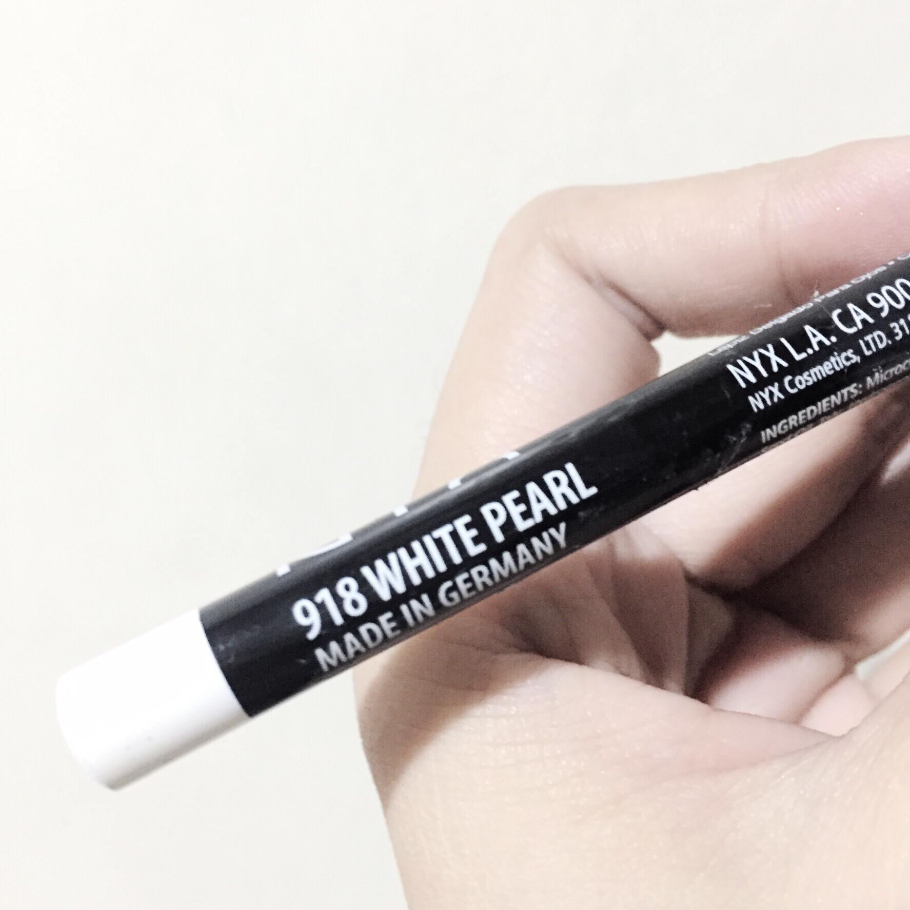 NYX Slim Eye Liner Pencil 918 White Pearl