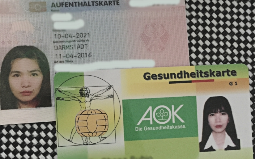 my residence permit in Germany