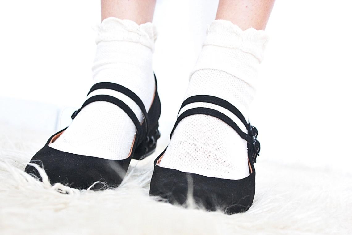 hm flat shoes