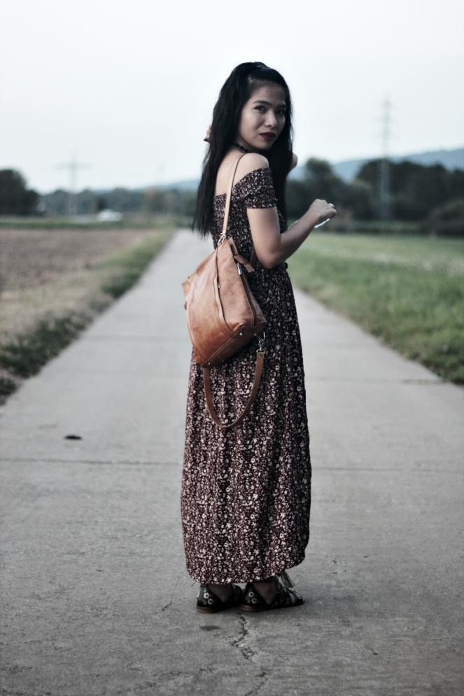 zaful bohemian dress